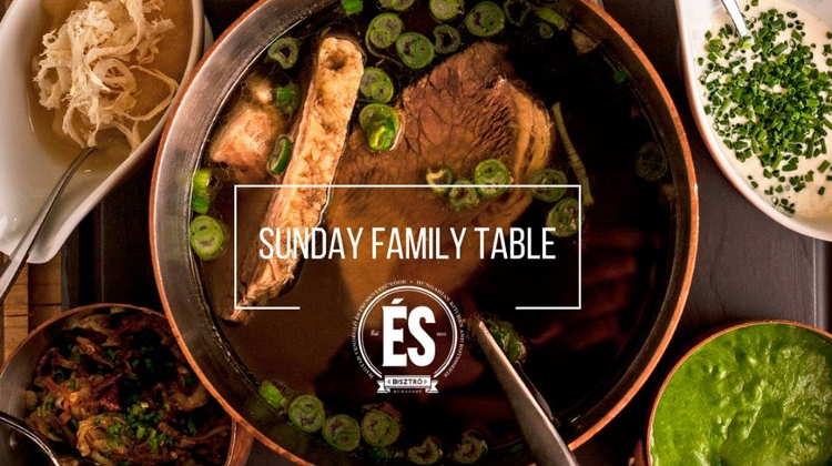 'Family Table' Every Sunday @ ÉS Bisztró