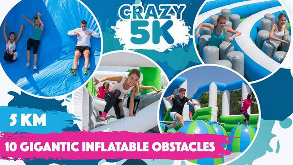 Crazy 5K Run In Budapest, 2 June