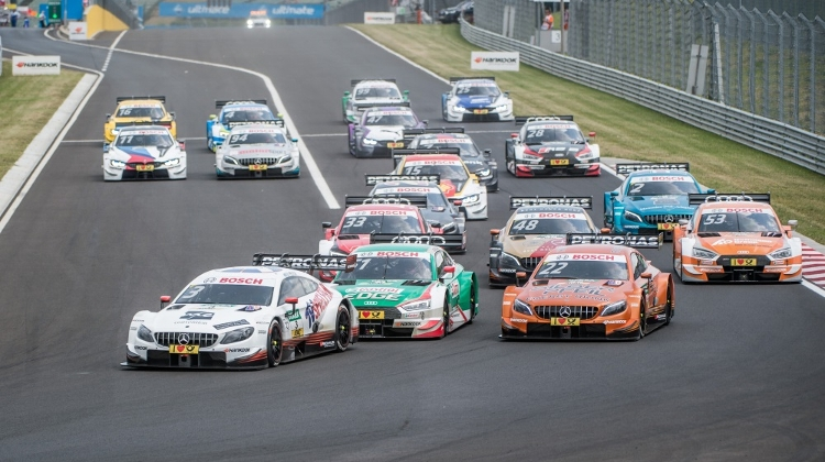 Video: BMW Wins DMT Touring Car Competition In Hungary