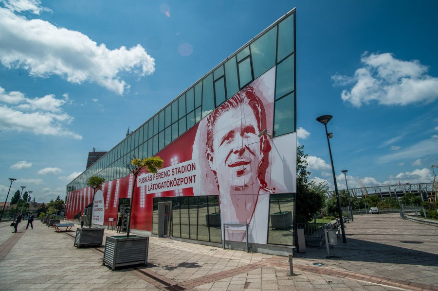 Puskás Ferenc Stadium Visitor Centre Opens