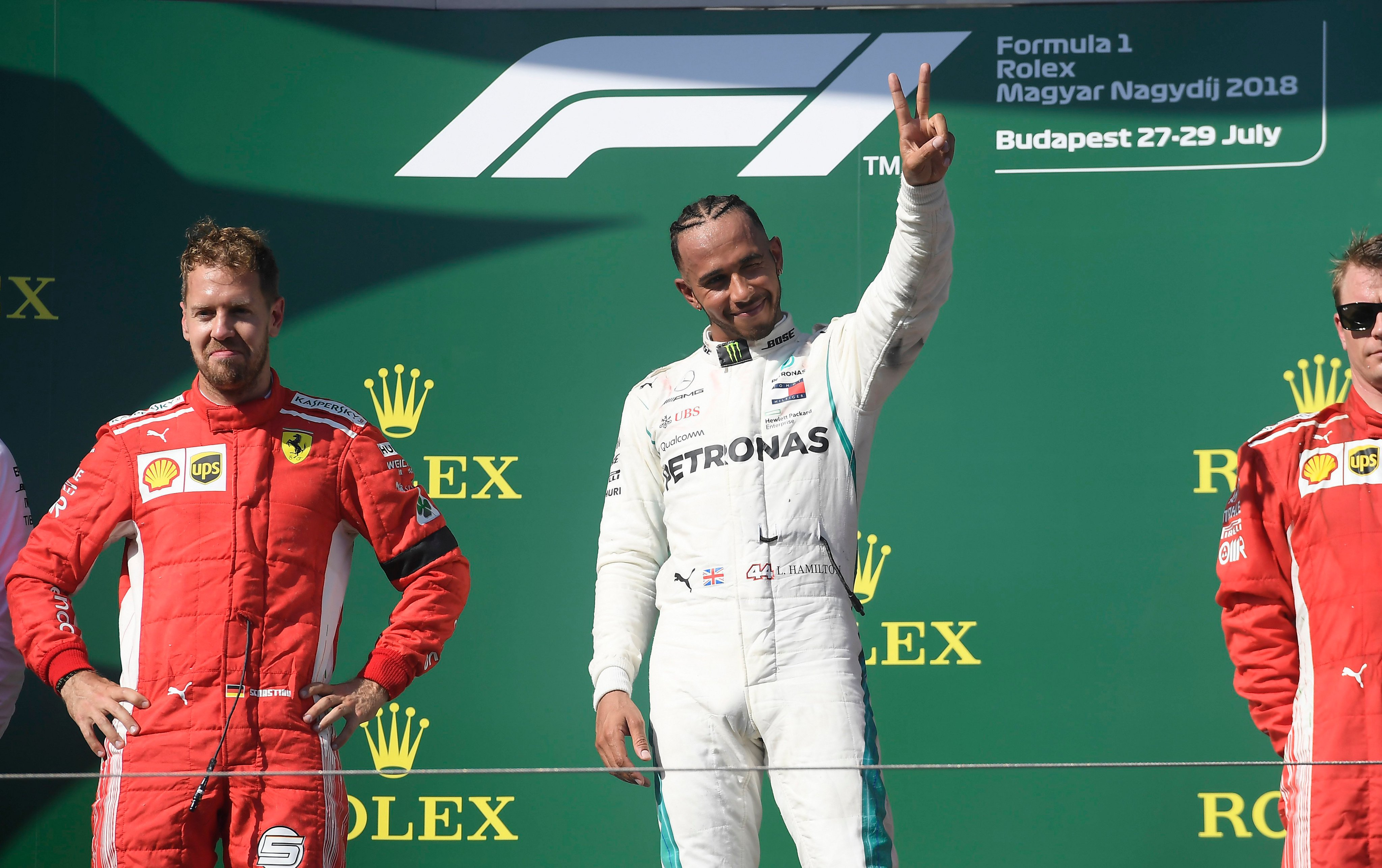 Video: Hamilton Wins Hungarian Grand Prix