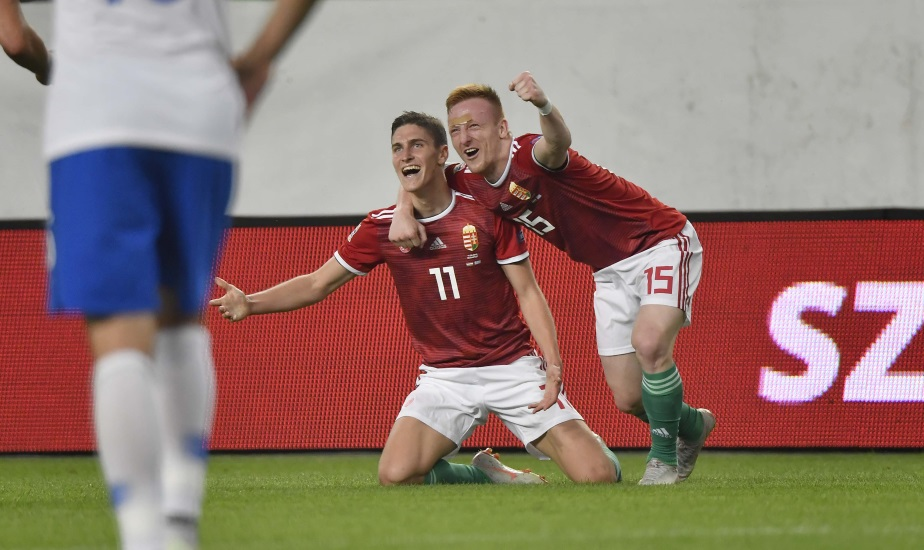 Spectacular Hungarian Football Strikes Put Paid To Greece