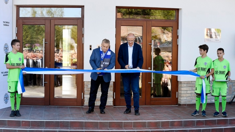 PM Orbán Opens Football Academy In Serbia
