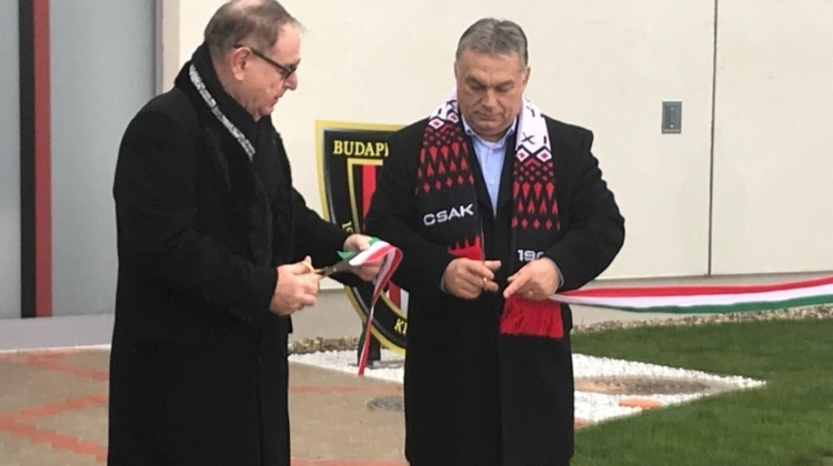 PM Orbán, Hemingway Inaugurate Budapest Honvéd Youth Athlete Development Centre