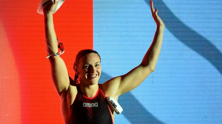 Hungarian Olympic Champion Wins 4 Gold & 3 Bronze Medals
