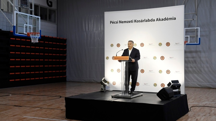 PM Inaugurates National Basketball Academy In Southern Hungary