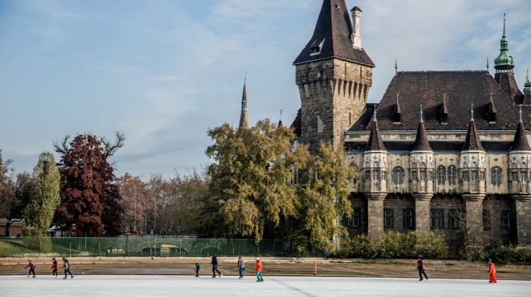 Budapest's Beautiful Outdoor Ice Rink At Városliget Is Open For Winter