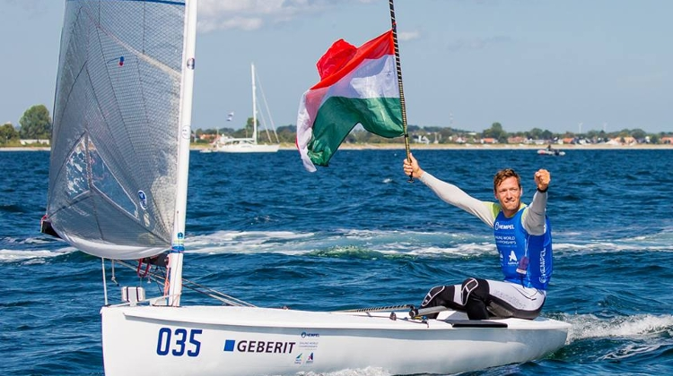 Hungarian Wins Rare Sailing Gold