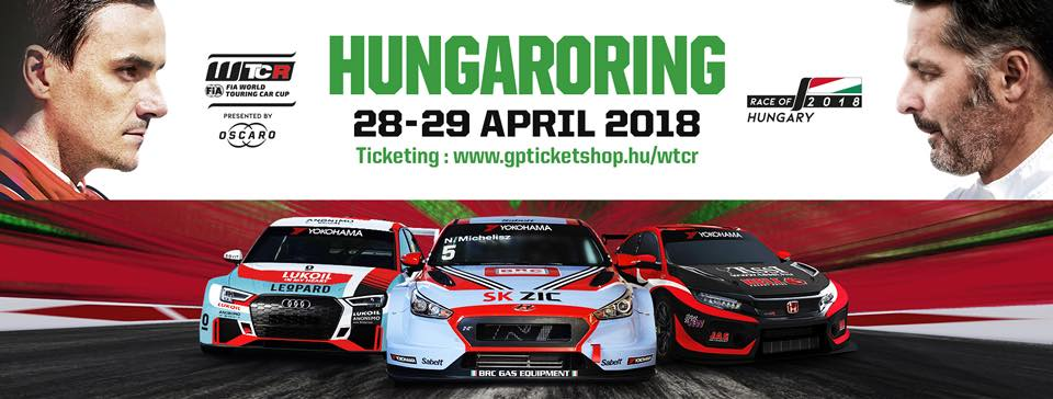 FIA WTCR Race Of Hungary, Hungaroring, 28 - 29 April