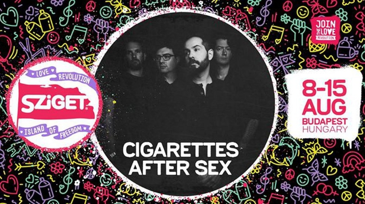 Video: Cigarettes After Sex @ Sziget Festival,  9 August