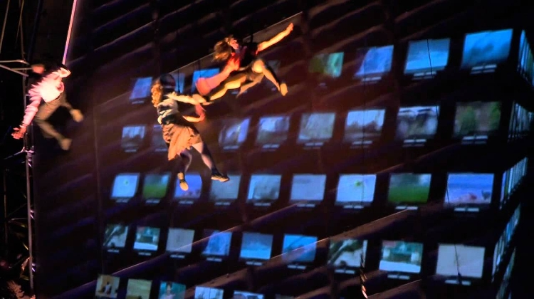 Wired Aerial Theatre @ Sziget Festival, Every Day