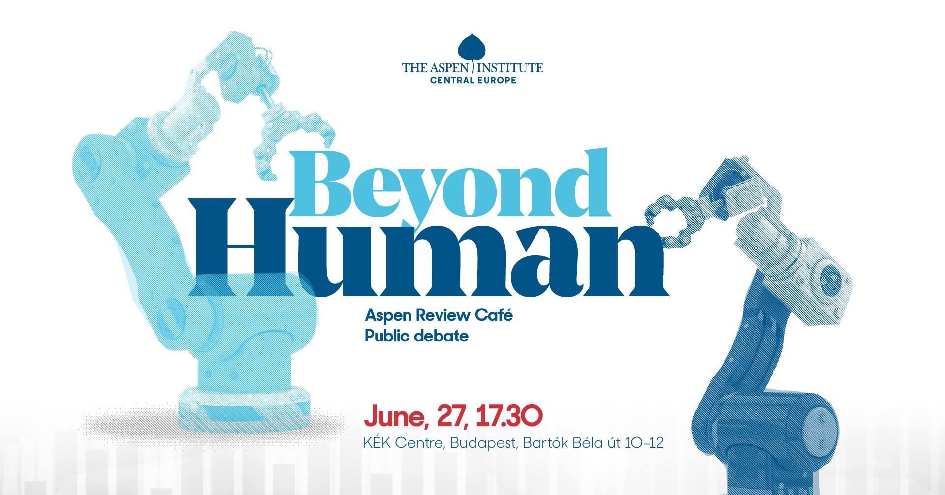 Invitation: 'Aspen Review Café – Beyond Human', Contemporary Architecture Center, 27 June