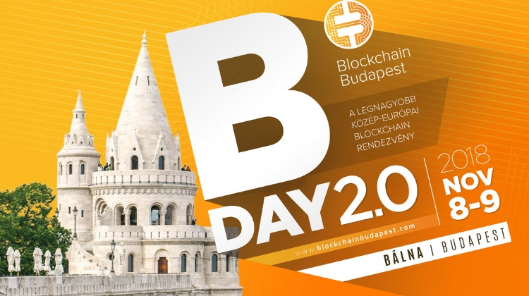 'Blockchain' Conference, Bálna Budapest, 8 – 9 November