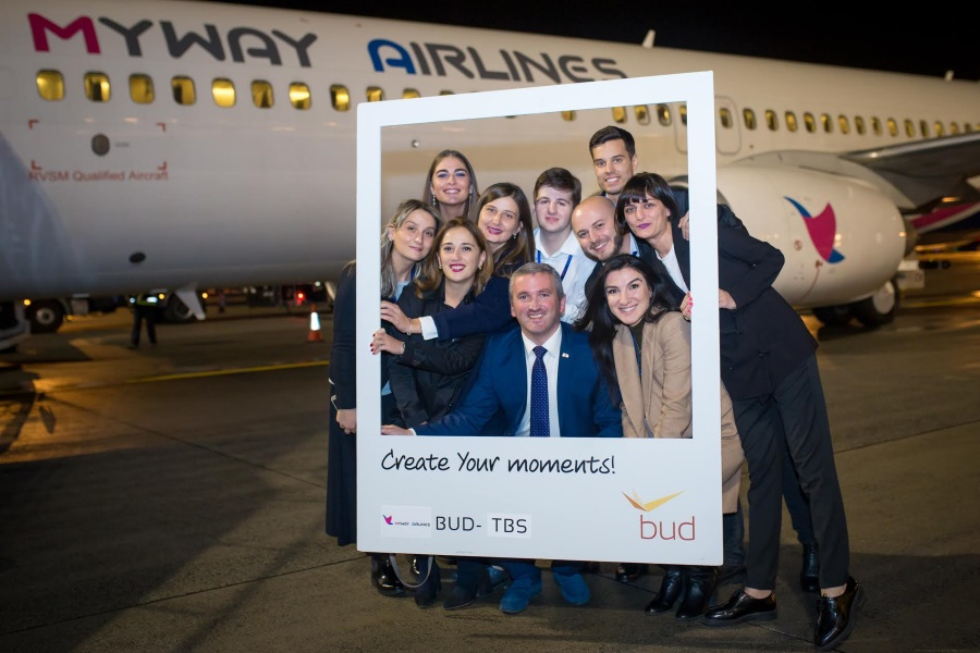 Georgian Carrier MyWay Launches Tbilisi-Budapest Flight