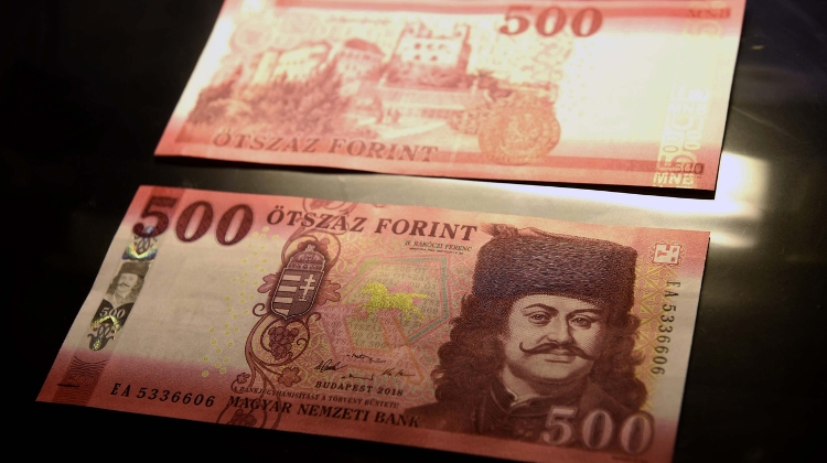 New 500 Forint Notes Out
