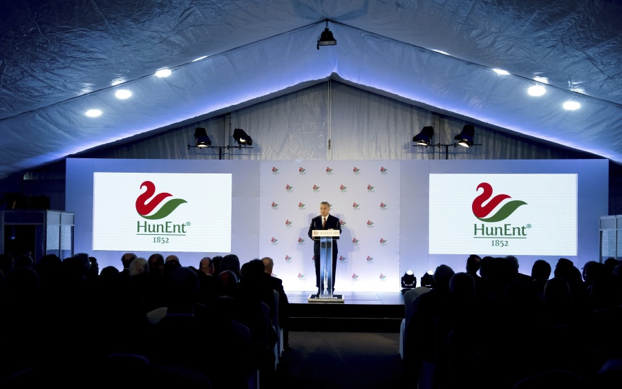 Video: HunEnt Inaugurated Unique Waterfowl Processing Unit In Hungary