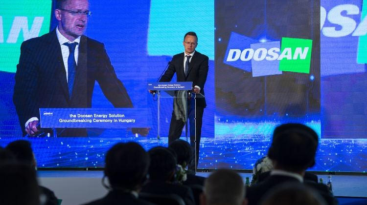 Video: Doosan Starts Building HUF 31 Billion Copper Foil Plant In Hungary
