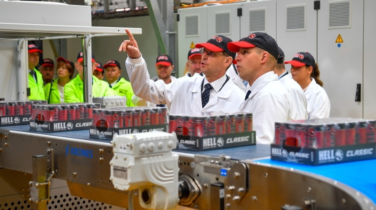 Hungarian Soft Drink Hell Energy Inaugurates HUF 2.1 Billion Expansion