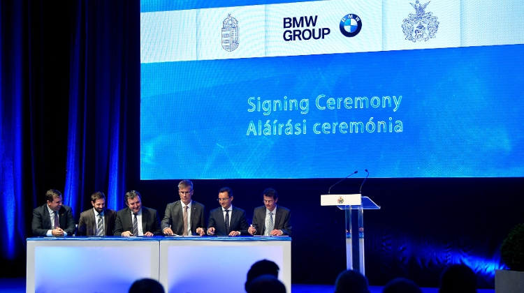 Site Of Euro 1 Billion Plant In Hungary Handed Over To BMW
