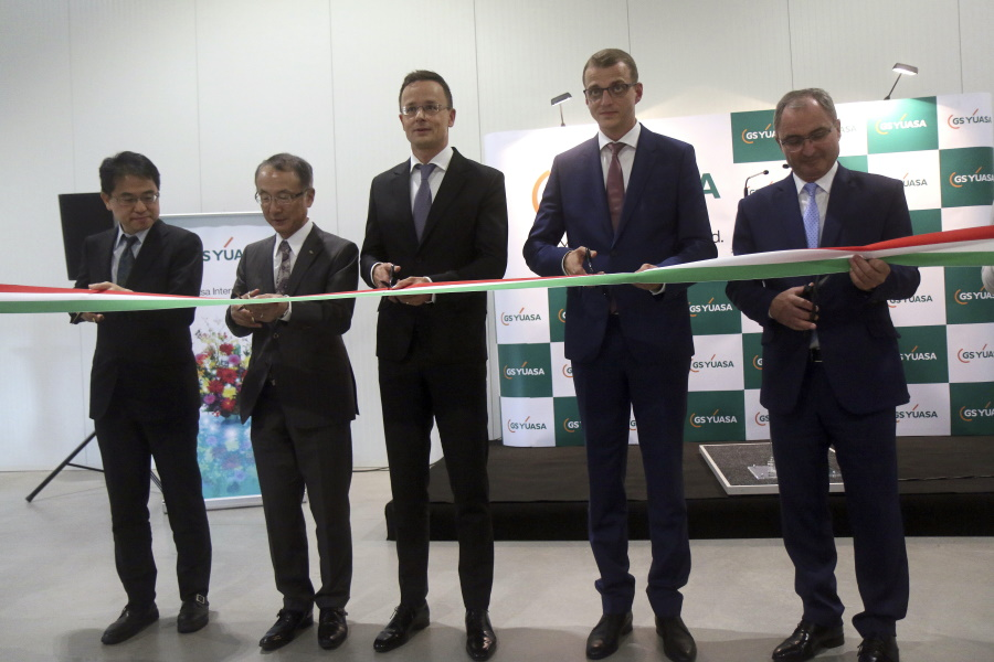 Video: GS Yuasa Opened First European Plant In Miskolc