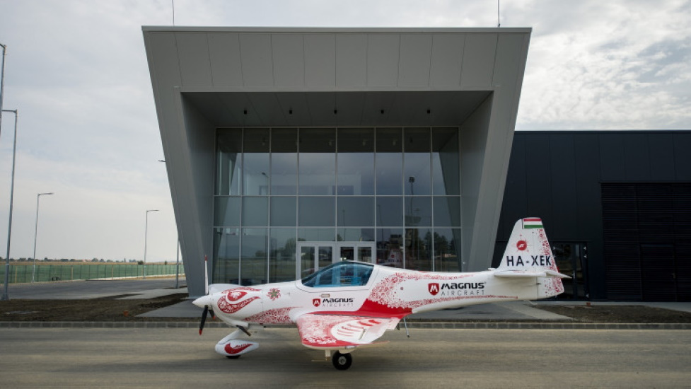Hungary's Magnus Aircraft Inaugurates 5,100 Sqm Production Hall