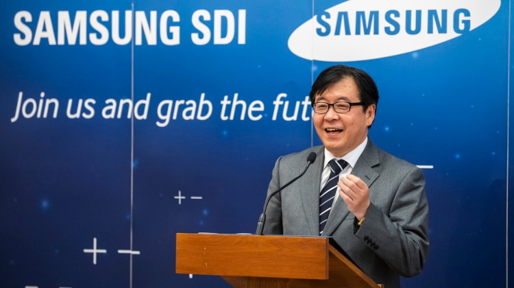 Samsung SDI Expands Battery Plant Near Budapest