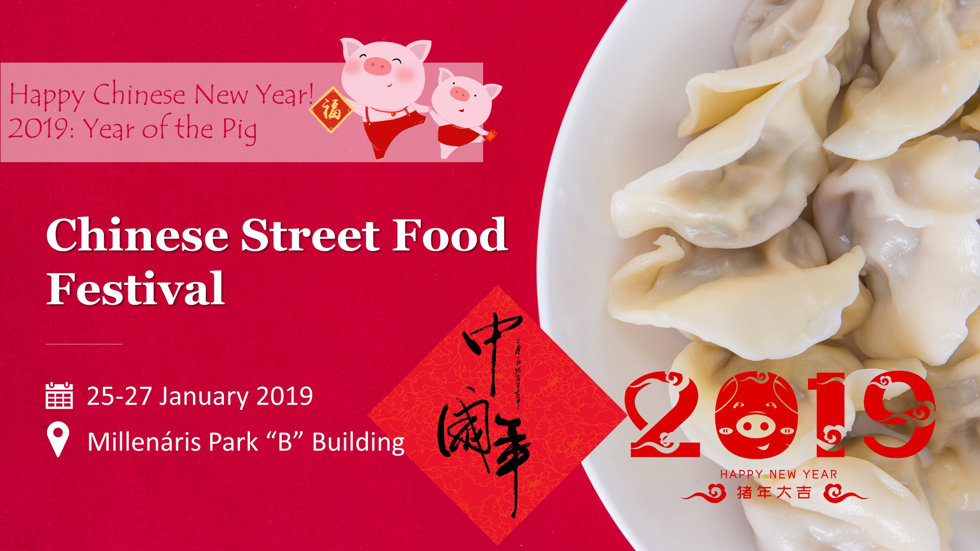 2019 Chinese New Year Celebration, Millenáris Budapest, 25 – 27 January