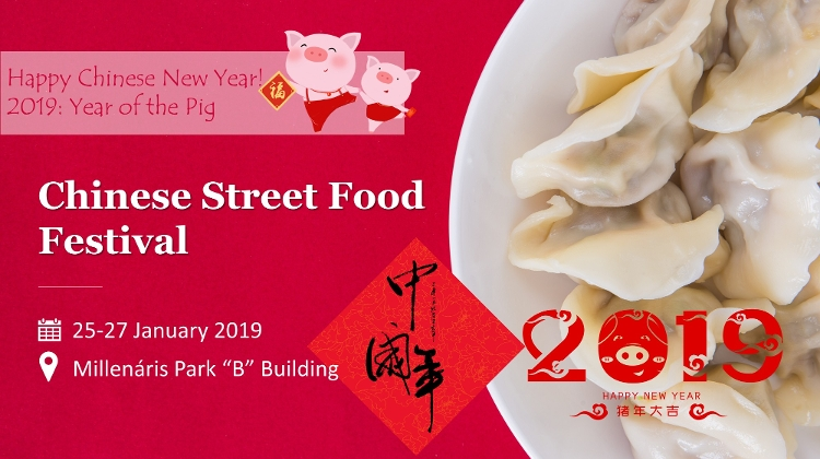 2019 Chinese New Year Celebration, Millenáris Park, 25 – 27 January