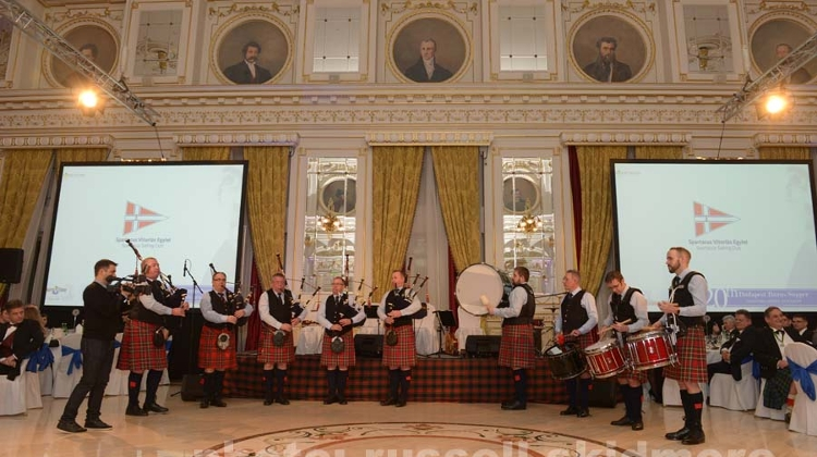 'Burns Supper', Corinthia Hotel Budapest, 26 January