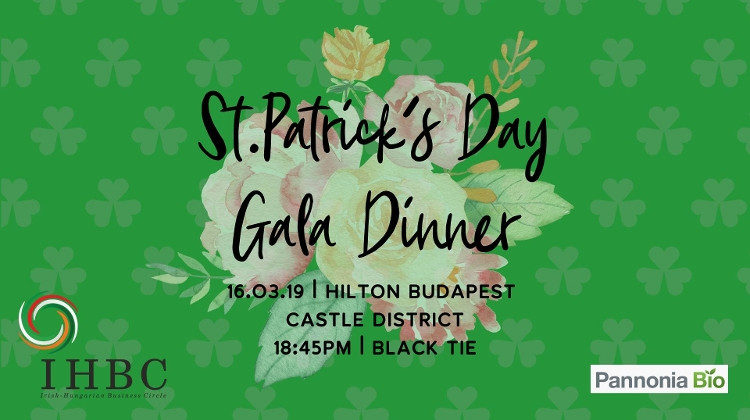 St Patrick's Day Gala Dinner In Budapest, 16 March