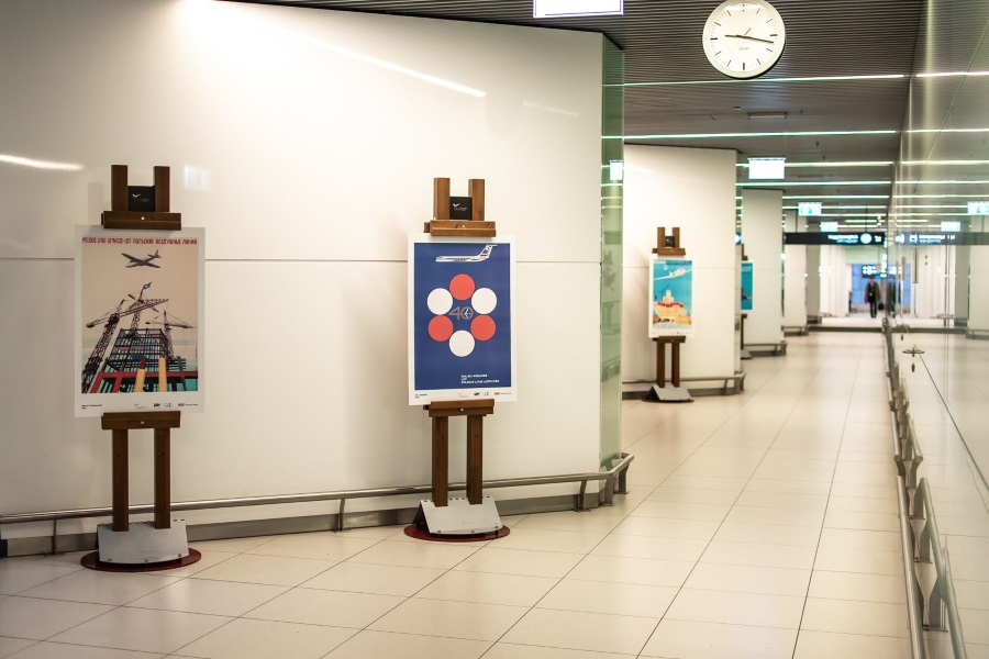 '90 Years Of Flying' Exhibition @ Budapest Airport