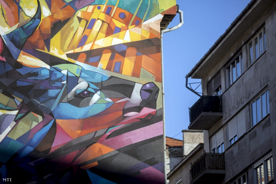 Street Art Company Takes Murals To New Heights In Budapest