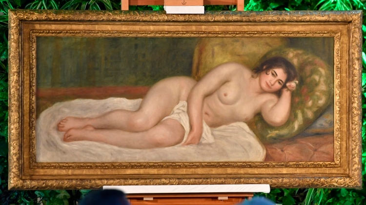 Renoir Nude Acquired For Museum Of Fine Arts Budapest, Costing HUF 3.5 Billion