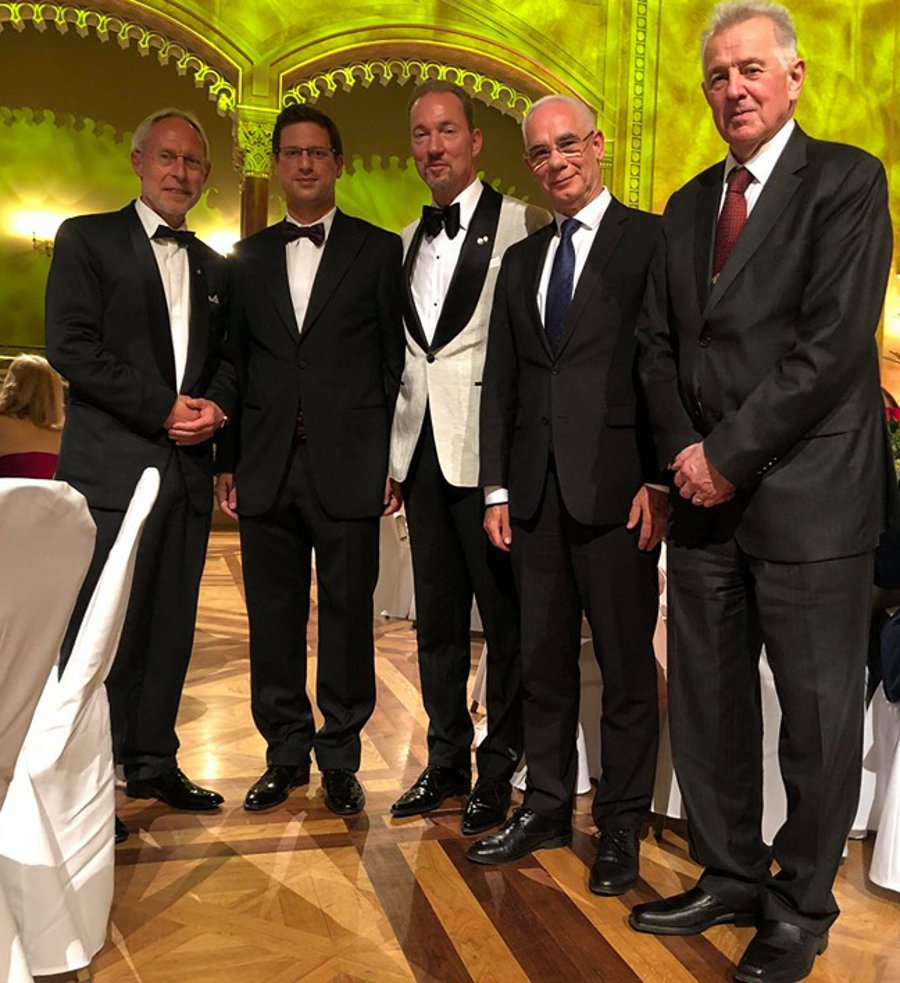 Expat Dr. Arne Gobert Awarded Top Hungarian Honour At Annual German Business Community Ball In Budapest