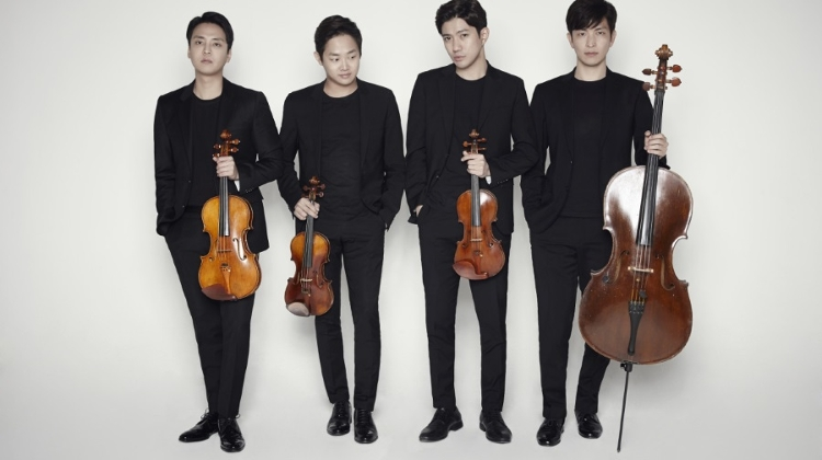 Korean Cultural Center Hungary Presents: Novus String Quartet, 24 May