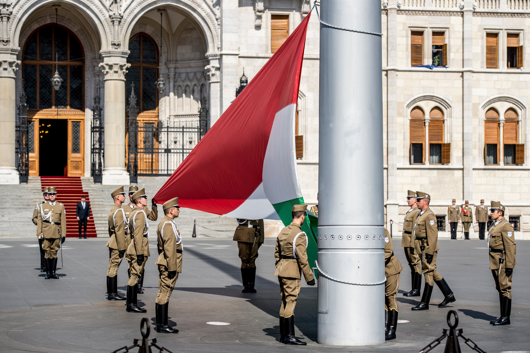 'National Solidarity Day' In Budapest, 4 June