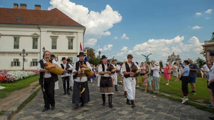 Festival Of Folk Arts, Buda Castle, 17 – 20 August