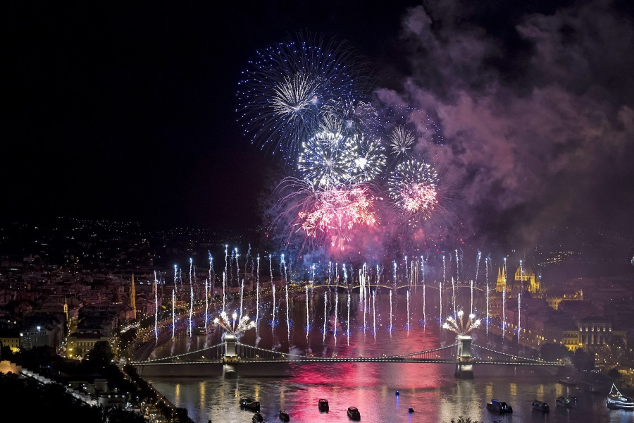 Fireworks Display In Budapest On August 20th To Feature 26,000 Special Effects