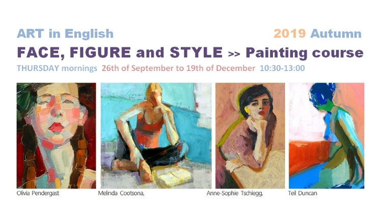 Autumn English Painting Course In Budapest: 'Face, Figure & Style', From 26 September