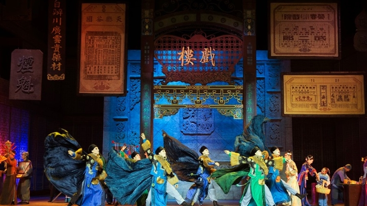 Coming Up: Chinese Dance Drama 'Opera Warriors' @ Erkel Theatre, 25 – 26 September