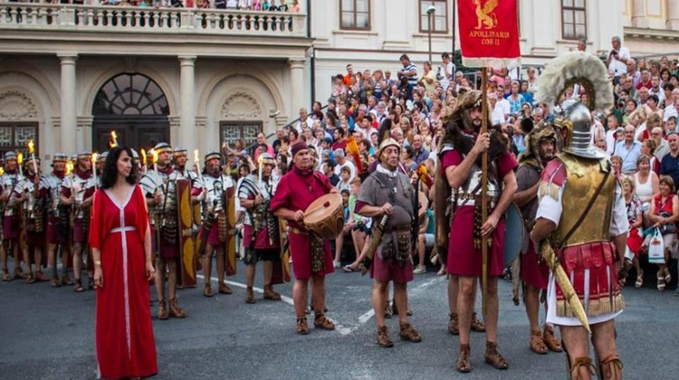 Video: Szombathely Hosting 20th Savaria Historical Carnival, 22 – 25 August
