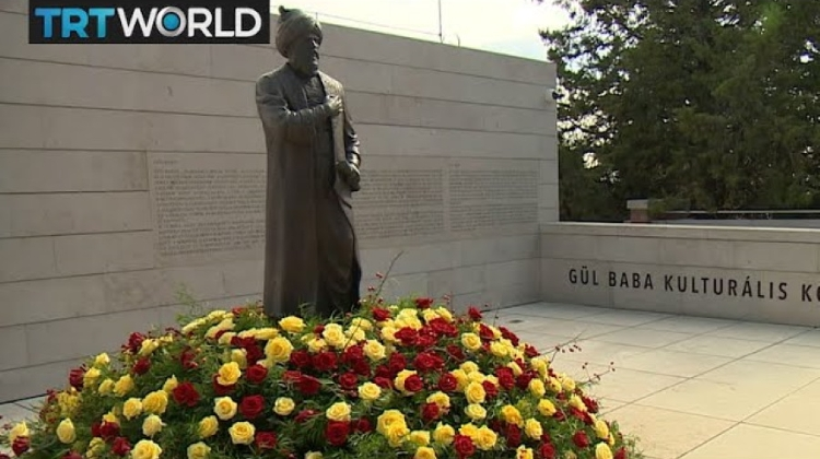 Video: Ottoman Father Of Roses Honoured In Hungary At Gul Baba's Tomb