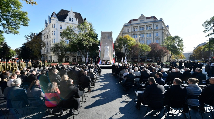 Monument Of National Martyrs Inaugurated In Budapest
