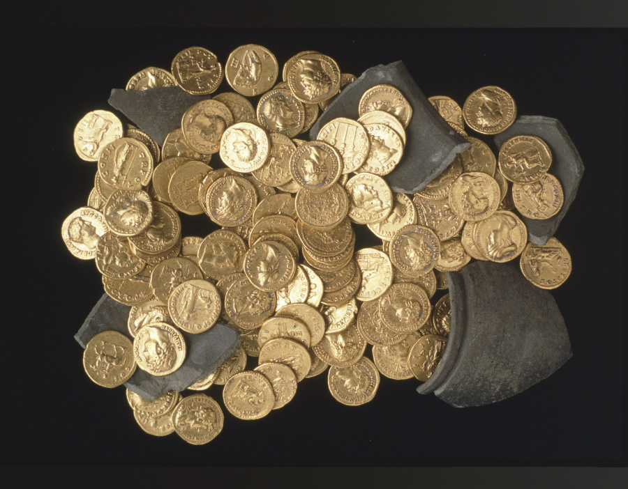 Valuable Roman Coins Found In Hungary