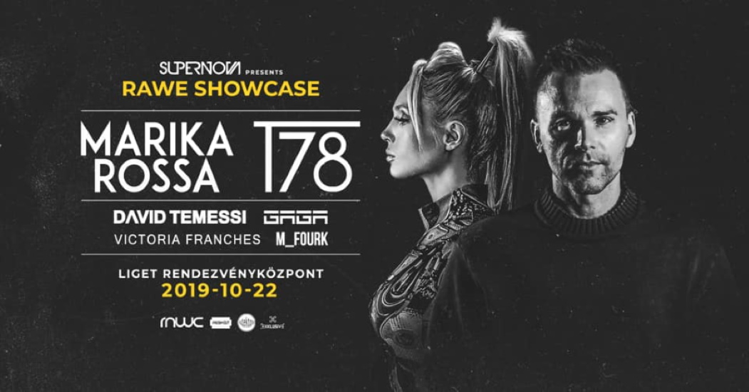 Supernova Techno: Rawe Showcase W/ Marika Rossa & T78