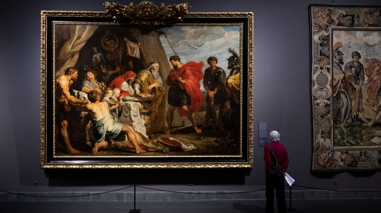Large-Scale Rubens, Van Dyck Exhibition Now Open In Budapest's Fine Arts Museum