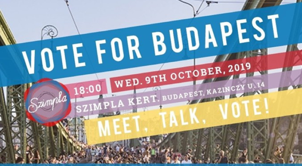 Expats Organize Vote4Budapest Meet Up Before Elections @ Szimpla Budapest, 9 October