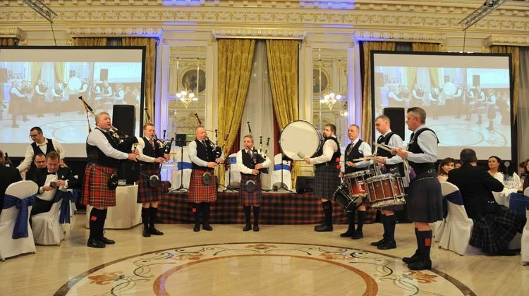 'Burns Supper' In Corinthia Hotel Budapest, 25 January