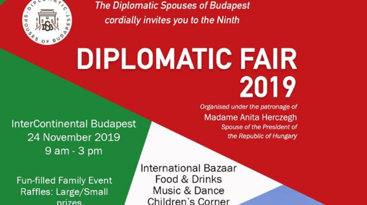 Diplomatic Fair @ InterContinental Budapest, 24 November