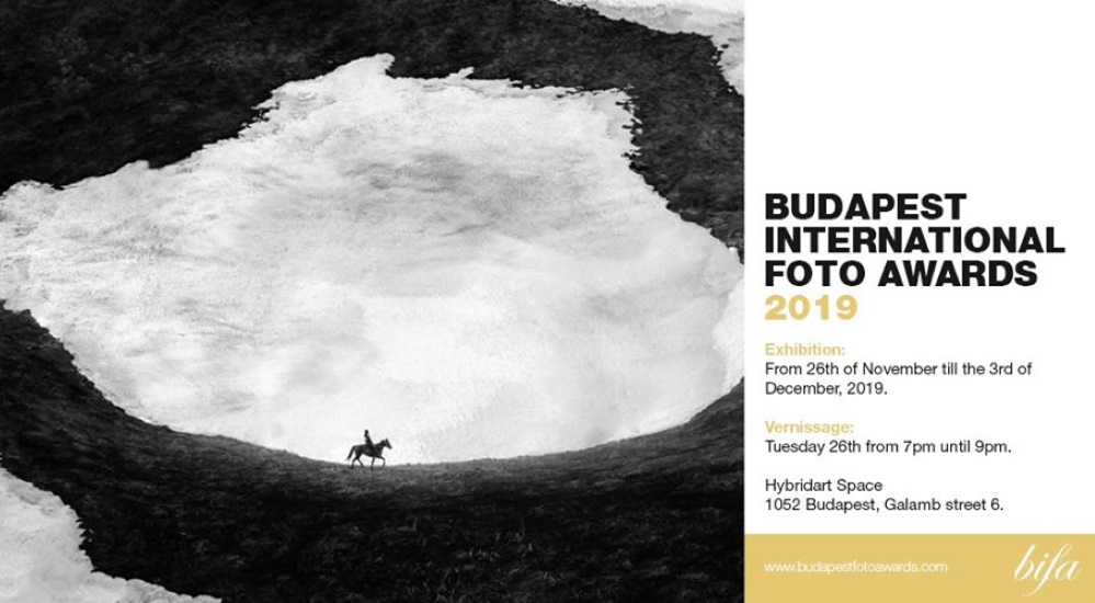 Budapest International Foto Awards On From 26 Nov – 3 Dec